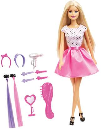 Barbie Doll with Hair Accessories