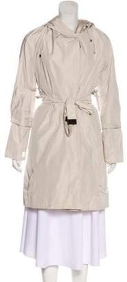 Max Mara 'S Hooded Knee-Length Coat
