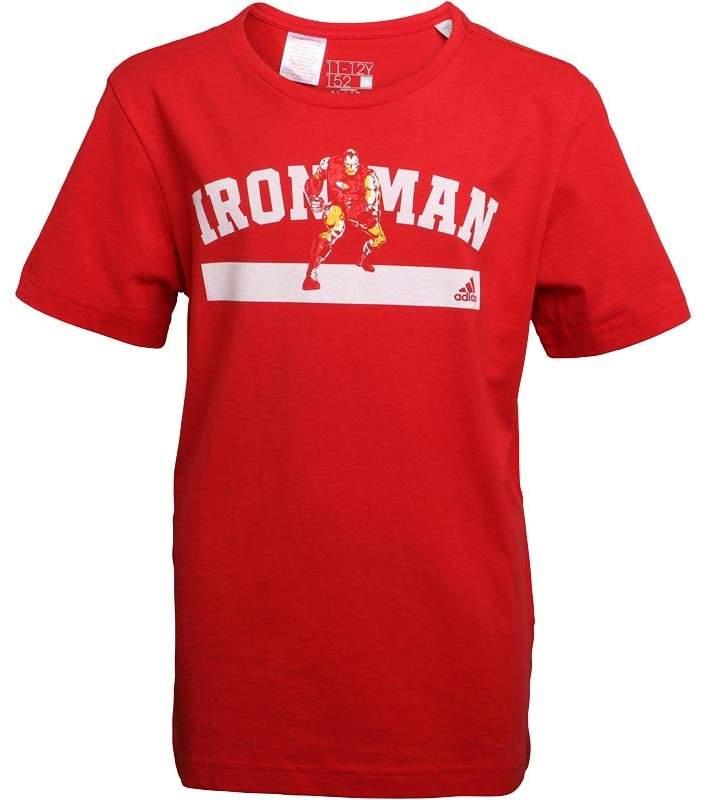 Boys Marvel Ironman Graphic T-Shirt Scarlet