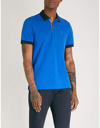 Burberry Hartford cotton-piqué polo shirt