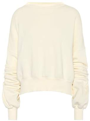 Unravel Cotton jersey sweater