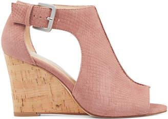 Nine West Goldah Open Toe Wedge Sandals