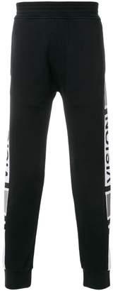 Neil Barrett Vision side panel track pants