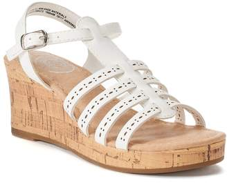So SO Ringmaster Girls' Wedge Sandals
