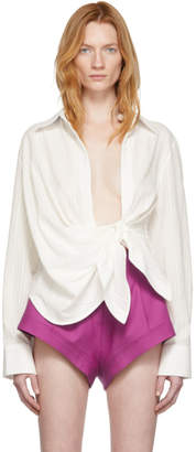 Jacquemus Off-White La Chemise Bahia Shirt