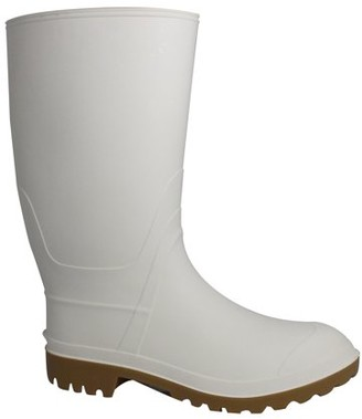 George Men's 12 Shaft White Shrimper or Institutional Boot