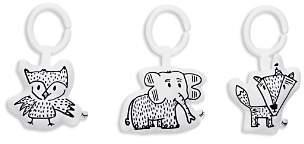 DockATot Hanging Elephant, Owl & Fox Toy Set