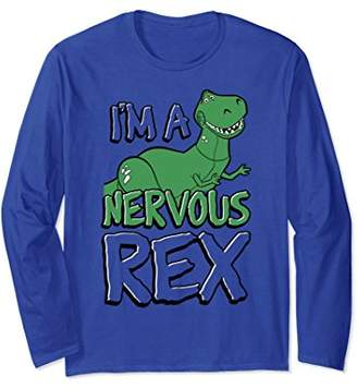 Disney Pixar Toy Story Nervous Rex Graphic Long Sleeve Tee