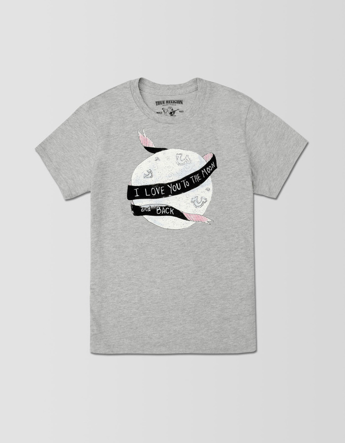 True Religion Girls Moon And Back Tee
