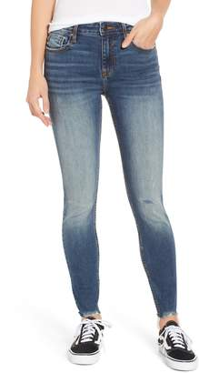 Vigoss Marley Distressed Cutoff Skinny Jeans