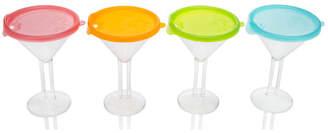 LipLidz 10 oz. Plastic Cocktail Glass