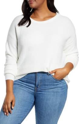 Caslon Shoulder Button Sweater