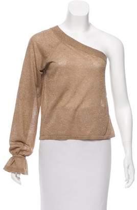 Veda Oversize One-Shoulder Top