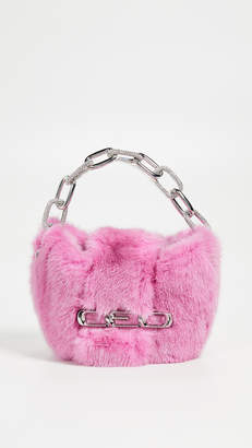 Alexander Wang Mico Mini Mink Clutch
