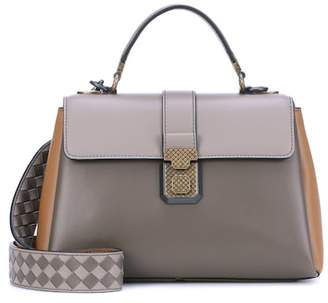 Bottega Veneta Small Piazza leather shoulder bag