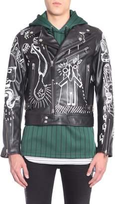 Diesel Black Gold Loragraph Biker Jacket