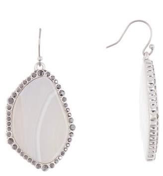 Lucky Brand Agate Statement Drop Earrings