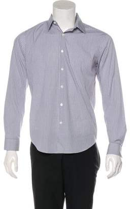 Theory Check Button-Up Shirt