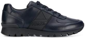 Prada logo low-top sneakers