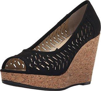 Adrienne Vittadini Footwear Women's Carilena Wedge Pump $27.84 thestylecure.com