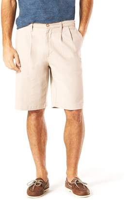 Dockers Men's D3 Classic-Fit Stretch Pleated Shorts