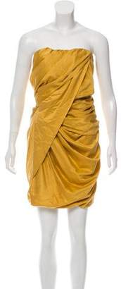 Elizabeth and James Strapless Draped Tunic