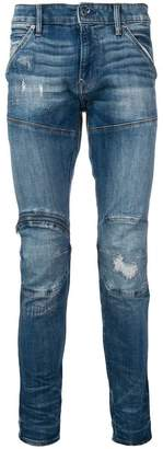G Star Research structured skinny jeans