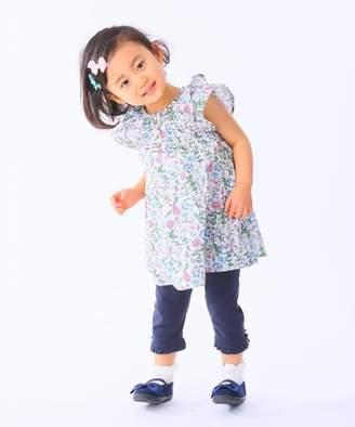 Kumikyoku (組曲) - 組曲KIDS 【80~100cm】ナチュラルフラワー チュニック