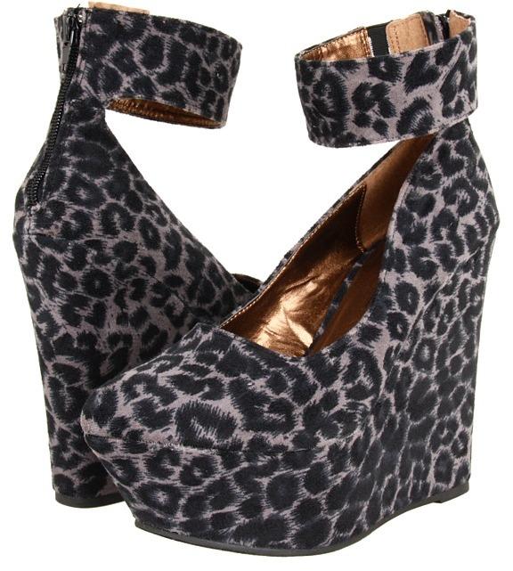 Miss Me Maggie-1 (Grey/Black) - Footwear