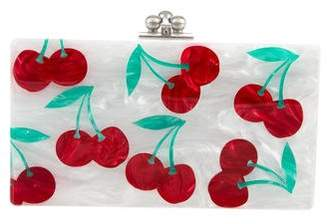 Edie Parker Jean Cherries Clutch