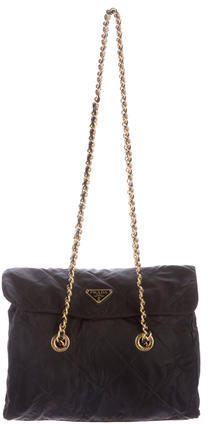 pradaPrada Quilted Vela Flap Bag