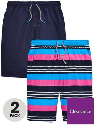 Very Pack Of 2 Boys Board Shorts