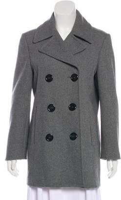 Michael Kors Structured Wool Coat