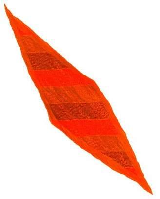 Hermes H en Bias Silk Plissé Scarf