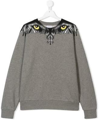 Marcelo Burlon County of Milan Kids TEEN eyes and wings sweatshirt