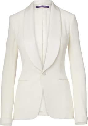 Ralph Lauren Sawyer Silk Tuxedo Jacket