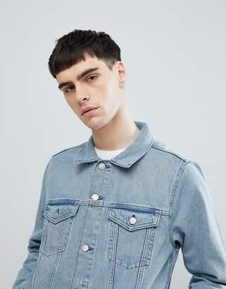 Weekday Single Jacket Spring blue