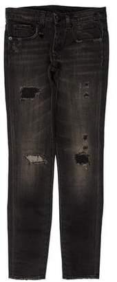 R 13 Low-Rise Allison Crop Jeans w/ Tags