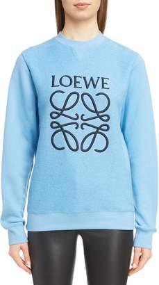 Loewe Terry Bodice Logo Sweatshirt
