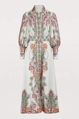 Zimmermann Linen maxi dress