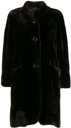 Pierre Cardin Pre-Owned 1980's loose teddy bear coat