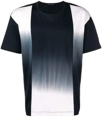 Issey Miyake colour-block short sleeve T-shirt