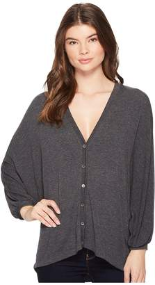 Three Dots Featherweight Sweater Cardi Women's Sweater