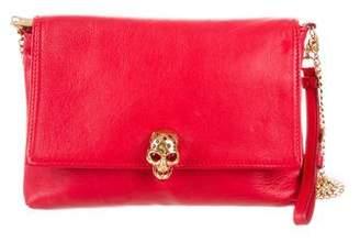 Alexander McQueen Leather Skull Crossbody Bag