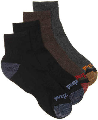 Timberland Outdoor Leisure Boot Socks - 4 Pack - Men's