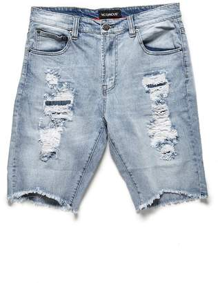 Forever 21 Victorious Distressed Denim Shorts