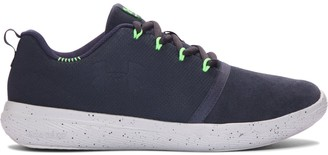 Under Armour Boys' Grade School UA Charged 24/7 Low Suede Shoes