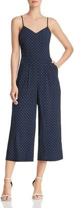 J.o.a. Polka Dot Wide-Leg Jumpsuit