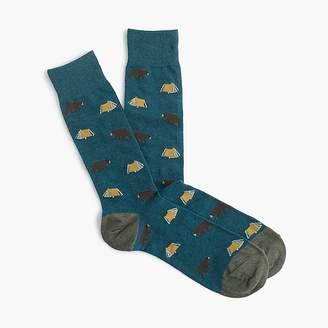 J.Crew Camping print socks