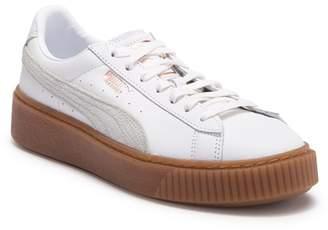 Puma Basket Euphoria Gum Leather Sneaker